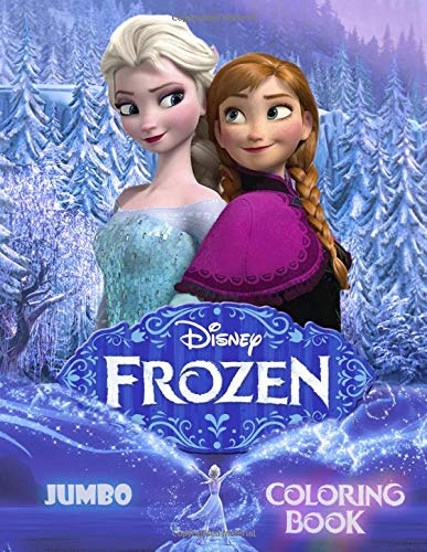 FROZEN  JUMBO High Quality Coloring Book For Kids For Boys And Girls   40 ILLUSTRATIONS