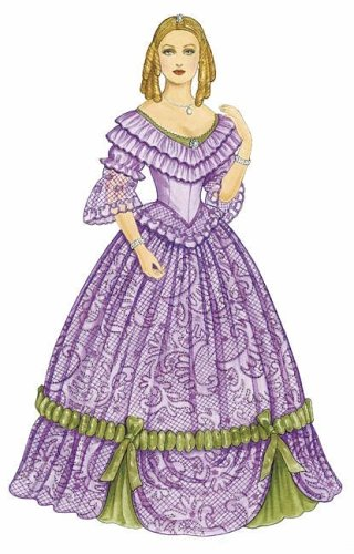 Godey's Early Victorian Fashions Paper Dolls