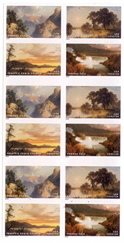 Hudson River School Forever Stamps Booklet of 20 by USPS Photo #2