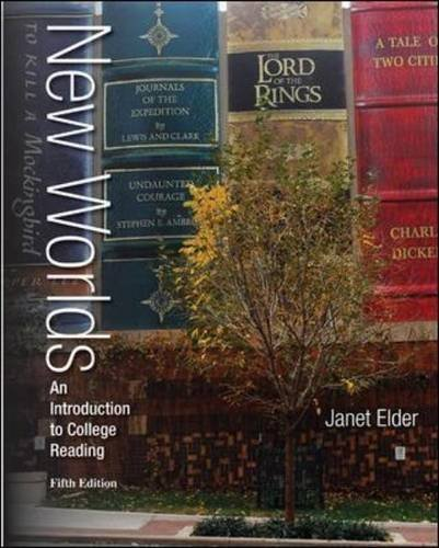 Annotated Instructor's Edition for New Worlds: An Introduction to College Reading