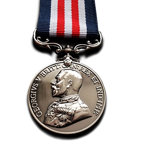 Military Medal (MM) Bravery in the Field WW1 British Royal George V Replica by FreeCrows