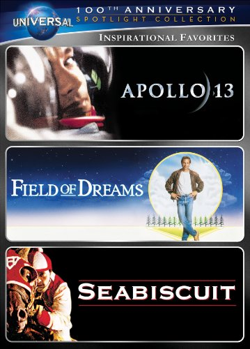 Inspirational Favorites Spotlight Collection [Apollo 13, Field of Dreams, Seabiscuit] (Universal's 100th - Macys Dayton Ohio