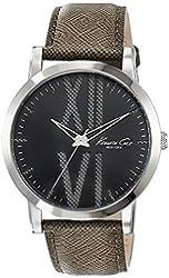 Kenneth Cole New York Men's 10014816 Classic Analog Display Japanese Quartz Grey Watch