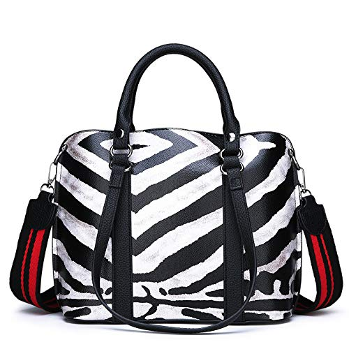 A Zebra Donna Wygmadlifeqq 11cm 30 Zebra colore Tracolla Dimensioni 24 Da Borsa Pn5xW5qO