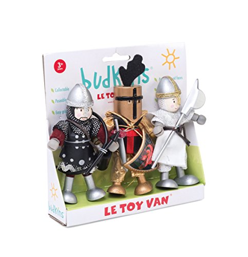 Le Toy Van Budkins Wooden Knight Gift Set