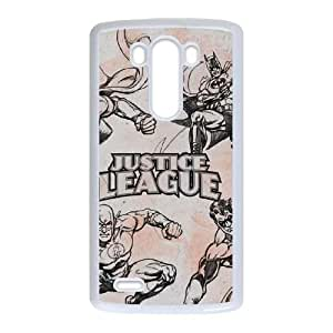 LG G3 Cell Phone Case White_Justice League Sketch Ising