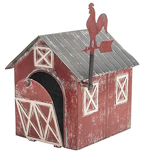 Metal Barn Mailbox - 11