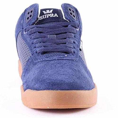Supra ELLINGTON - zapatilla deportiva de cuero hombre Navy - gum