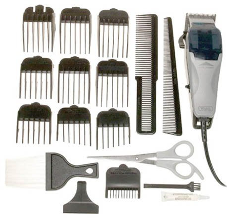 Wahl 79900B Clip-N-Trim 23-Piece Complete Haircut Kit