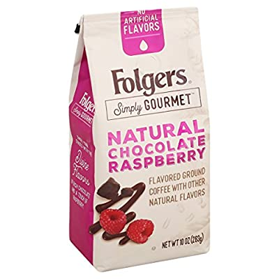 Folgers Simply Gourmet Flavored Ground Coffee with Other Natural Flavors