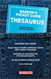 A Pocket Guide Thesaurus (Barron's Pocket Guides)