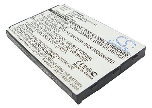 Battery Replacement for Sirius GEX-XMP3 XMP3H1 XMP3i L01L40321 TBS100551042 XM-6900-0004-00
