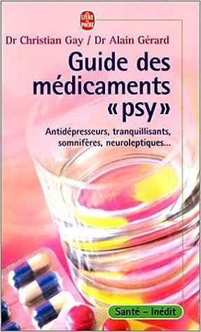 """Lire en ligne Guide des médicaments """"psy"""" pdf ebook"""