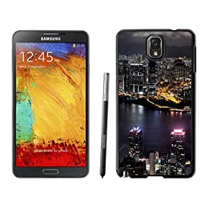 NEW Unique Custom Designed Samsung Galaxy Note 3 N900A N900V N900P N900T Phone Case With Taipei 101 Taiwan City Night View_Black Phone Case