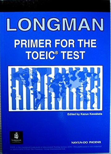 Long primer for theTOEIC test (1999) ISBN: 4888961980 [Japanese Import]