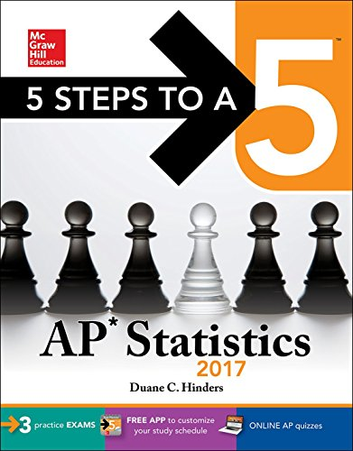 5 Steps to a 5 AP Statistics 2017 (McGraw-Hill 5 Steps to A 5)