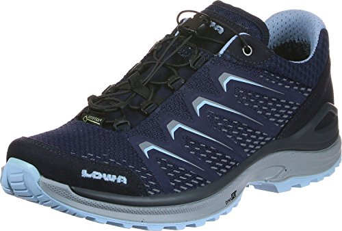 Lowa Women's Maddox Shoes navy Lo Ws Hiking blue GTX rrHzxwA