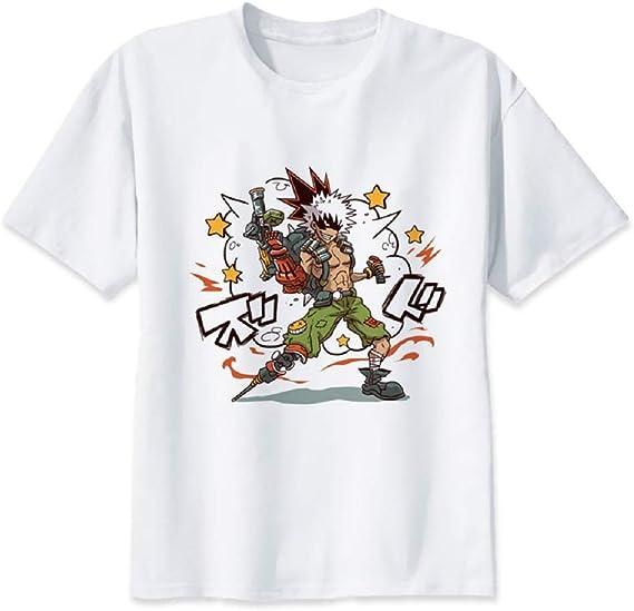 Bakugo Katsuki T-shirt Boku No Hero Academia T-shirt My Hero Academia Shirt
