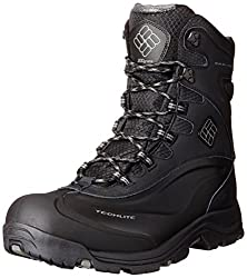 Columbia Men's Buga Plus Iii Oh Wide Snow Boot, Blackcharcoal, 14 W Us