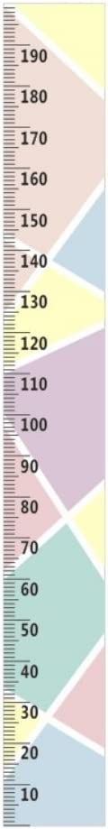 Reefa Simple Nordic Style Children Height Growth Chart,Wall Hanging Type Height Measurement Ruler Home Decoration Wall Art Ornaments