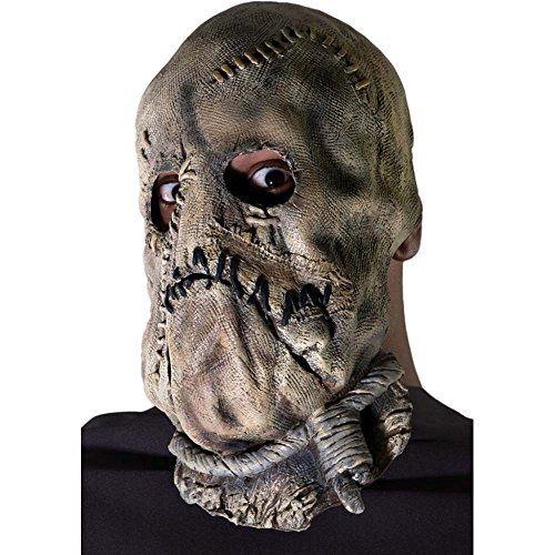 [Batman: Scarecrow 3/4 Mask] (Male Scarecrow Costume)