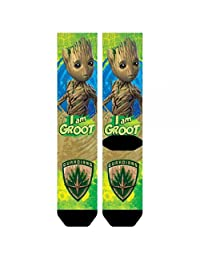 Marvel Guardians of the Galaxy 2 I Am Groot Sublimated Crew Socks