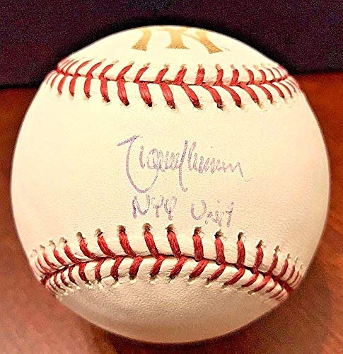 Autographed Randy Johnson Baseball - New York Yankees NYY Unit MR 794392 - Steiner Sports Certified - Autographed - Baseball Randy Steiner Johnson