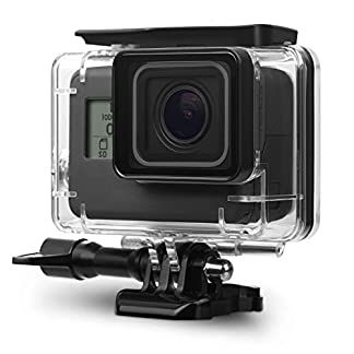 Taslar Go Pro Underwater Housing Waterproof Case Diving Protective Shell Accessories Cover with Bracket for GoPro Hero7 Black 2018, Hero 6, Hero 5 Action Camera 51GHQ6uMI9L