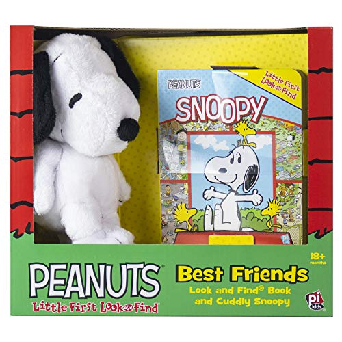 Charlie Browns Little Sister (Peanuts - Best Friends Look and Find Book and Cuddly Snoopy Plush - PI)
