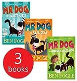 Mr Dog Series 3 Books Set Collection By Ben Fogle & Steve Cole (Mr Dog and a Hedge Called Hog, Mr Dog and the Seal Deal, Mr Dog and the Rabbit Habit)