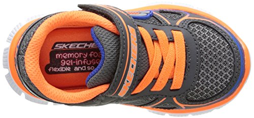 Skechers Jungen Flex Advantage Mini Race Sneakers Grau (CCOR)