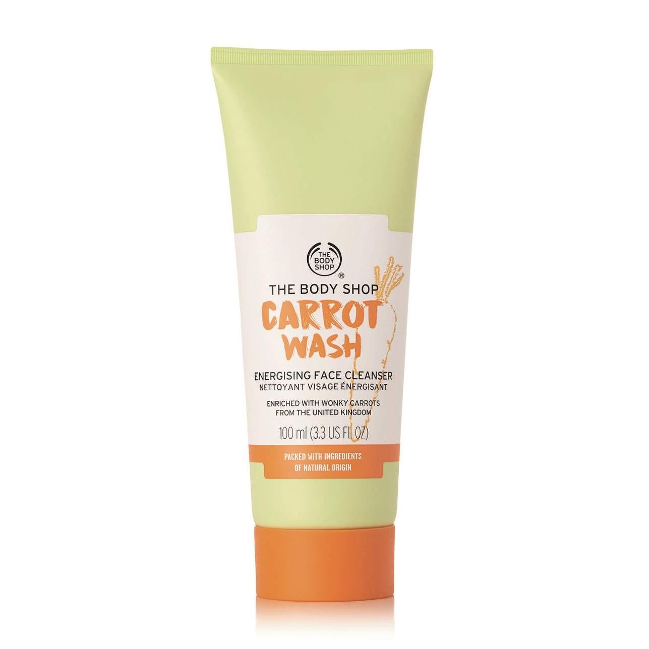 The Body Shop Carrot Face Wash, 3fl. Oz