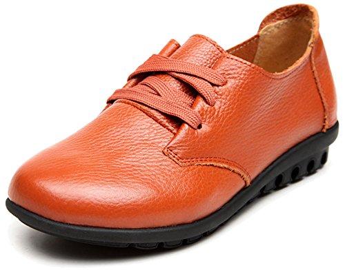 à fille Chaussures Jaune Oxford femme lacets Fangsto qzwBIEPPR