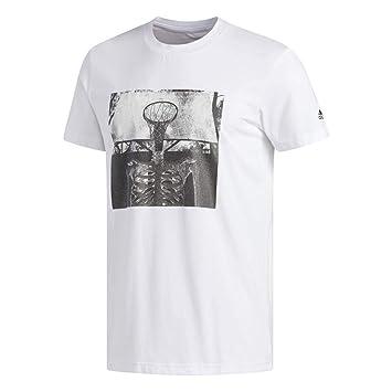 adidas Skull Ball Camiseta de Baloncesto, Hombre: Amazon.es ...