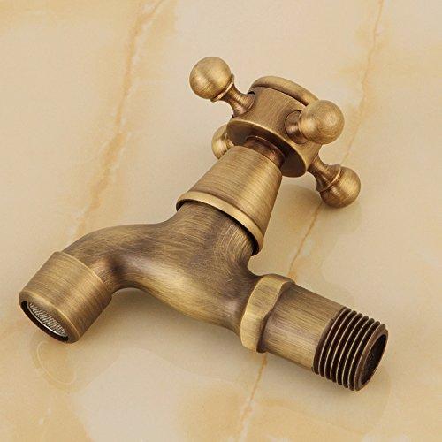 YanCui@ European creative copper sink single hole bath mixer