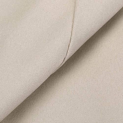 Beige Slim Ragazza Trench Fit Cappotto Coat Bavero Chic Di Invernali Button Libero Autunno Eleganti Donna Giubbino Maniche Tempo Caldo Lunghe Transizione Moda q1qRP