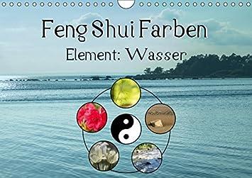 Feng Shui Farben - Element Wasser Wandkalender 2019 DIN A4 quer ...