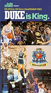 Duke Is King -  The Official 1991 NCAA Championship Video [VHS]