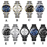 Watch for Men,Fashion Stainless Steel Watch
