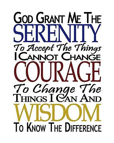 SERENITY PRAYER (M)- 8 x 10