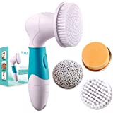 tweezers cvs Epique Beauty Face Cleansing Brush System for Facial Scrubber - Waterproof Anti-aging Spa Kit Skin Cleanser - Deep Pore Exfoliating and Cleansing Body - Callus Remover Tool, Suitable Women and Men