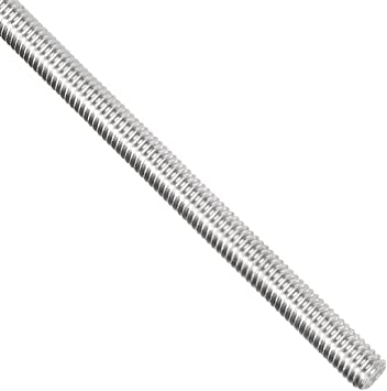 Smartsails M10 x200mm,304 Stainless Steel Full Threaded Rod Right Hand Thread