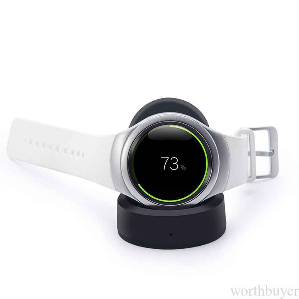 Bobury Chargeur Charging Dock sans Fil Station daccueil Portable pour Samsung Gear S3 Classique//Frontier Station daccueil de Charge