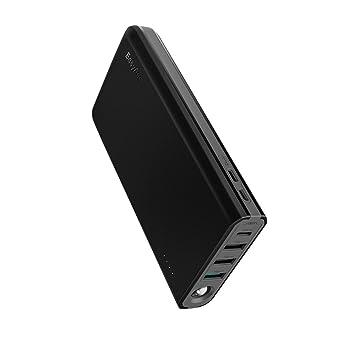 EasyAcc Bateria Extena 20000mAh Tipo C Powerbank Carga Rapida USB C MegaCharge Cargador Portátil QC 3.0 para iPhone Samsung Nintendo Switch MacBook ...