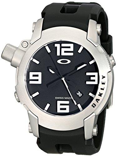 Oakley Men's 26-330 Kill Switch Analog Display Swiss Quartz Black Watch