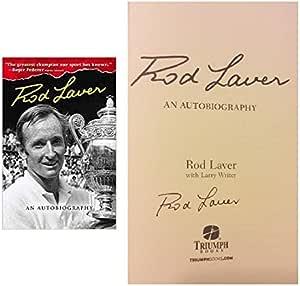Rod Laver Signed Autographed Book Rod Laver Autobiography