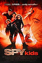 Original One Sheet from USA for Spy Kids from 2001. Condition: Very Good-Fine Rolled condition. International 1 sheet f/ Rodriguez fun w/ Banderas. Size: One Sheet, 27x41 inches. Film directed by Robert Rodriguez and stars Antonio Banderas.  ...