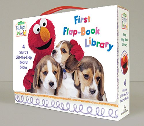 Elmo's World: Sesame Street: First Flap-book Library (Sesame Street Elmo's...