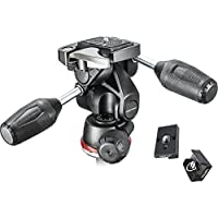 Manfrotto MH804-3WUS 3 Way head with Two Replacement Quick Release Plates for the RC2 Rapid Connect Adapter