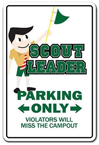 scout-leader-novelty-sign-gift-boy-girl-brownie-cub-eagle-troop-pack-meeting-2pcs